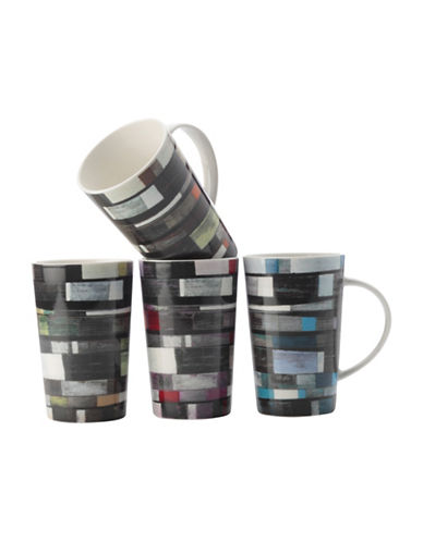 Maxwell & Williams Beachboards Mug Set-BLACK MULTI-One Size 89021616_BLACK MULTI_One Size