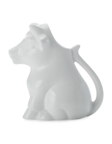 Maxwell & Williams Two-Piece White Basic Cow Creamer Set-WHITE-200 ml
