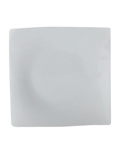 Maxwell & Williams Four-Piece Motion Square Dinner Plate Set-WHITE-One Size