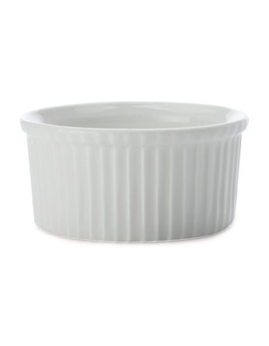 Maxwell & Williams Basics Six-Piece Porcelain Ramekin Set-WHITE-One Size