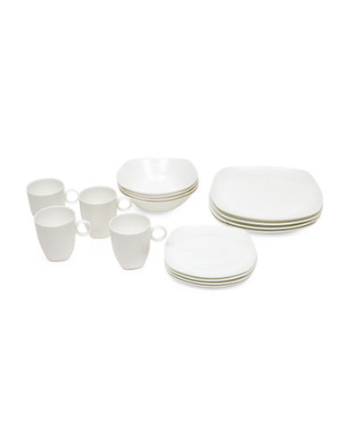 Maxwell & Williams Cashmere 16-Piece Bone China Dinnerware Set-WHITE-One Size 89362130_WHITE_One Size