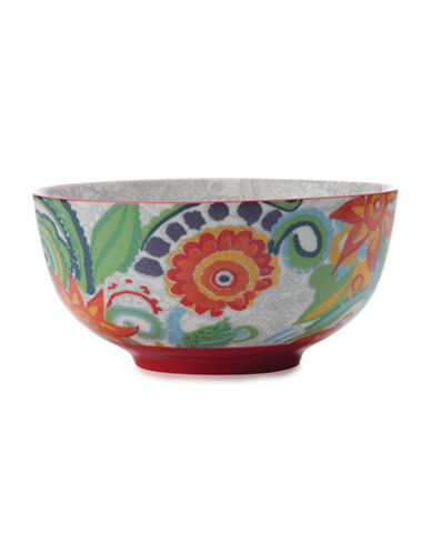 Maxwell & Williams Gypsy Floral Porcelain Bowl-RED-One Size