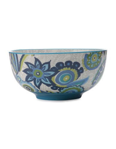 Maxwell & Williams Gypsy Floral Porcelain Bowl-BLUE-One Size