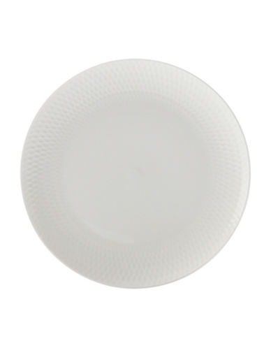 Maxwell & Williams Diamond Six-Piece Porcelain Side Plate Set-WHITE-One Size