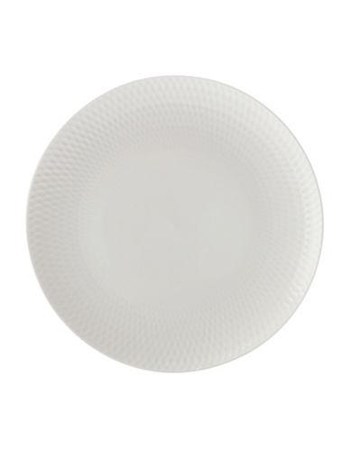 Maxwell & Williams Diamond Six-Piece Porcelain Entree Plate Set-WHITE-One Size