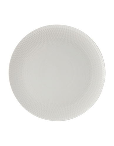 Maxwell & Williams Diamond Porcelain Round Charger Plate-WHITE-One Size