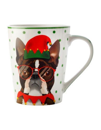 Maxwell & Williams Mob Christmas Fred Six-Piece Porcelain Mug Set-MULTI-12.5