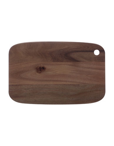 Maxwell & Williams Acacia Cutting Board-DARK BROWN-One Size