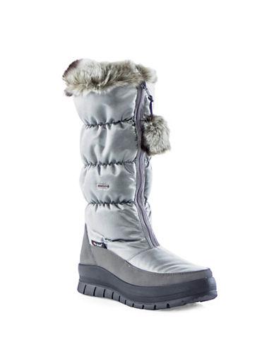 Pajar Toboggan Nylon Zip Boots-GREY-EUR 37/US 6
