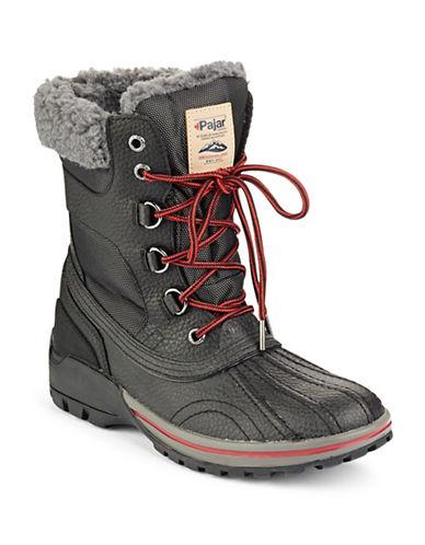 Pajar Burman Contrast Boots-BLACK-EU 44/US 11