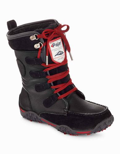Pajar Gaetana Lace-Up Snow Boots-BLACK-EUR 37/US 6