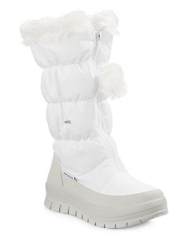 Pajar Toboggan Nylon Zip Boots-WHITE-EUR 40/US 9