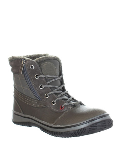 Pajar Trooper Waterproof Insulated Boots-DARK GREY-EU 43/US 10