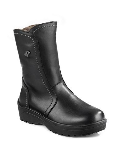 Pajar Bye-Bye Ankle Ice Boots-BLACK-5