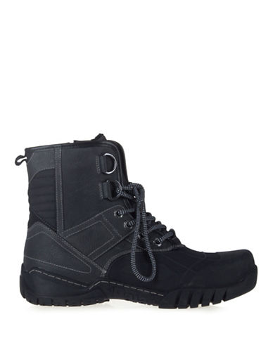 Pajar Sander Sport Ankle Boots-BLACK-EU 40/US 7