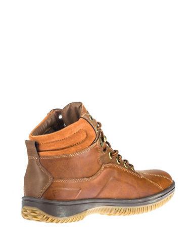 London Fog Derek Ankle Boots-TAN-EU 40/US 7