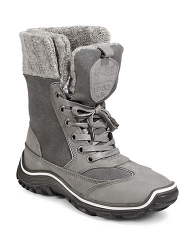 Pajar Waterproof Winter Boots-GREY-EUR 40/US 9