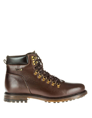 Pajar Venice Heritage Ankle Boots-BROWN-12