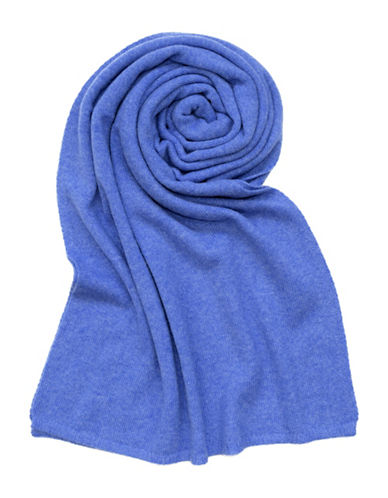 Lord & Taylor Solid Cashmere Scarf-ARCTIC-One Size