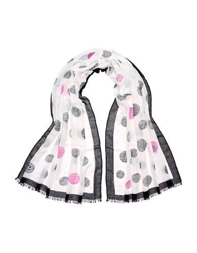 Fraas Dotted Scarf-PINK-One Size
