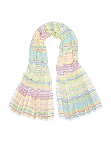 Fraas Mini Stripe Scarf-LEMON-One Size