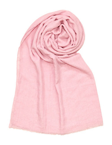Lord & Taylor Glitter Spray Oblong Scarf-PINK-One Size