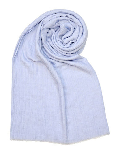 Lord & Taylor Glitter Spray Oblong Scarf-LAVENDER-One Size