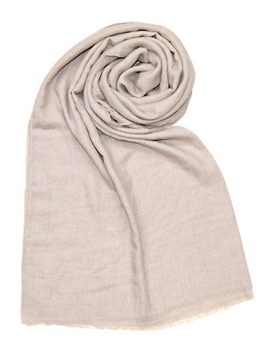 Lord & Taylor Glitter Spray Oblong Scarf-SILVER-One Size