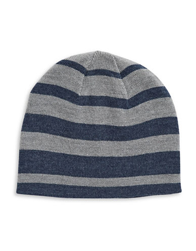 London Fog Stripe Tuque-BLUE-One Size