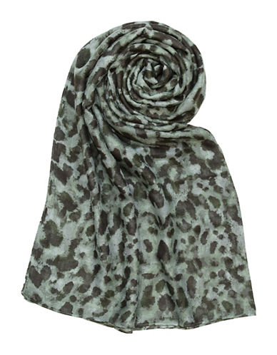 Lord & Taylor Painted Spots Blanket-DARK OLIVE-One Size