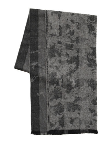 1670 Camouflage Scarf-CHARCOAL-One Size