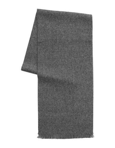 1670 Fringed Scarf-GREY-One Size