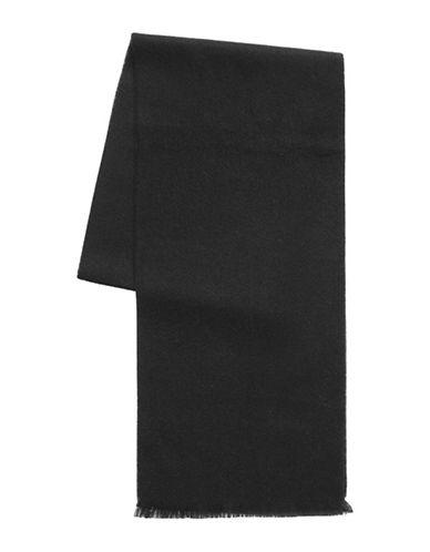 1670 Fringed Scarf-BLACK-One Size