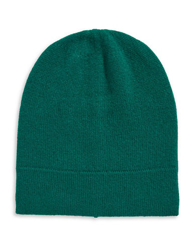Lord & Taylor Cashmere Tuque-NEPTUNE-One Size