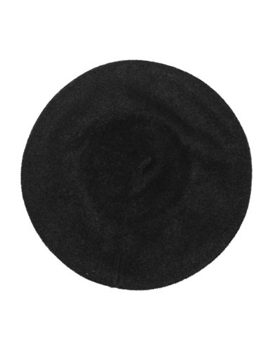 Lord & Taylor Cashmere Beret-BLACK-One Size