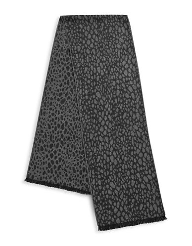 1670 Cobblestone Scarf-GREY-One Size