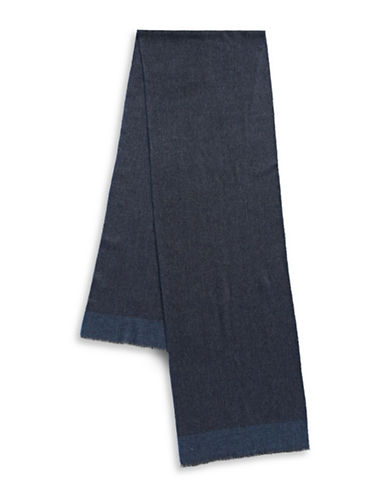 Black Brown 1826 Casual Scarf-BLUE-One Size