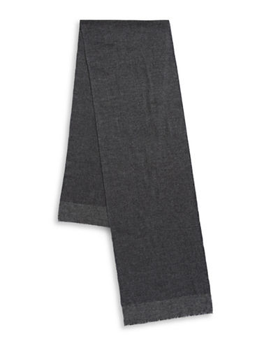 Black Brown 1826 Casual Scarf-GREY-One Size