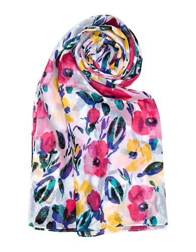 Lord & Taylor Garden Floral Scarf 89899535