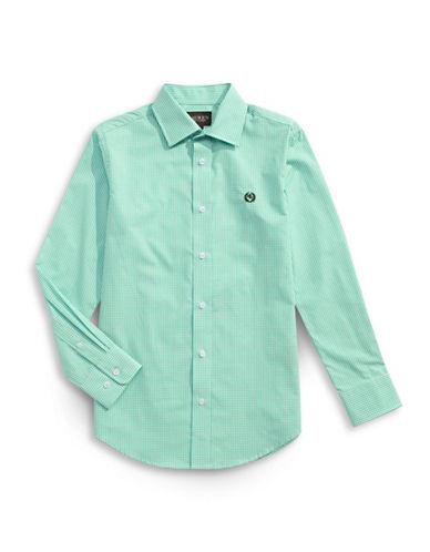 Lauren Ralph Lauren Classic Fit Gingham Sport Shirt-RED-14