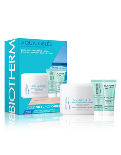 Biotherm Three-Piece Aqua-Gelee Set-NO COLOUR-One Size