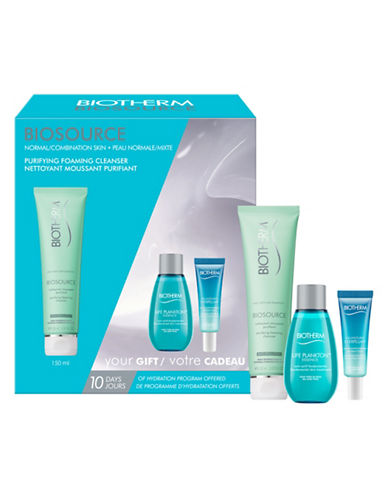 Biotherm Three-Piece Normal to Combination Skin Summer Set-NO COLOUR-One Size