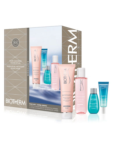 Biotherm Four-Piece Biosource Dry Skin Set-NO COLOR-One Size