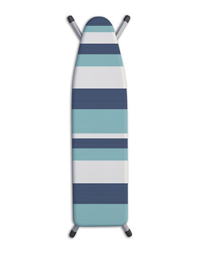 Laundry Solutions Tonal Striped Ironing Board Cover-BLUE-One Size