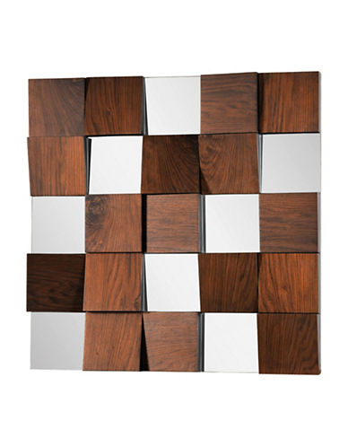 Ren-Wil Westside Mirror-WALNUT VENEER-One Size