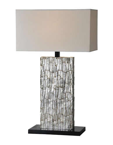 Ren-Wil Santa Fe Table Lamp-SILVER LEAF-One Size