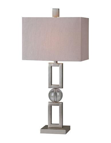 Ren-Wil Davos Table Lamp-MATTE NICKEL-One Size