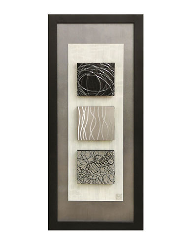 Ren-Wil Reflections II Wall Art-GREY-One Size