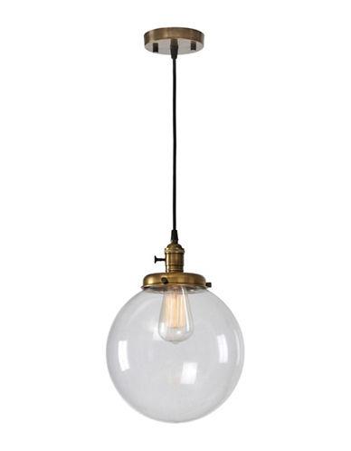 Ren-Wil Antonio Ceiling Pendant Light-ANTIQUE BRASS-One Size