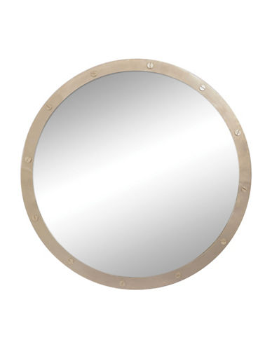 Ren-Wil Hudson Mirror-NICKEL PLATED RIVETS-One Size